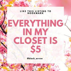 Like This Listing To Check Back For New Arrivals!